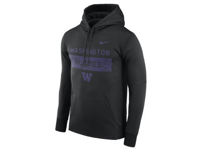 Washington Huskies Nike NCAA Men's Staff Pullover Hooded Sweatshirt
