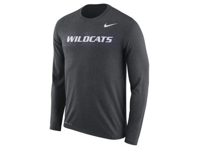 Kansas State Wildcats Nike 2018 NCAA Men's Legend Sideline Long Sleeve T-Shirt