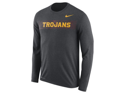USC Trojans Nike 2018 NCAA Men's Legend Sideline Long Sleeve T-Shirt