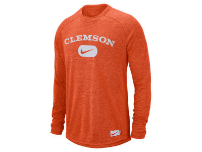 Clemson Tigers Nike NCAA Men's Stadium Long Sleeve T-Shirt