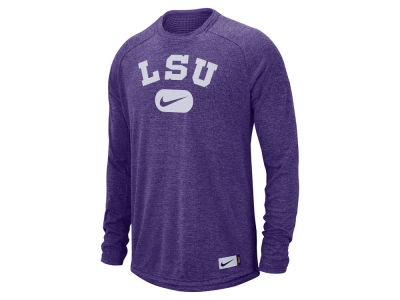 LSU Tigers Nike NCAA Men's Stadium Long Sleeve T-Shirt