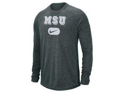 Michigan State Spartans Nike NCAA Men's Stadium Long Sleeve T-Shirt