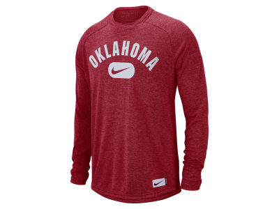 Oklahoma Sooners Nike NCAA Men's Stadium Long Sleeve T-Shirt