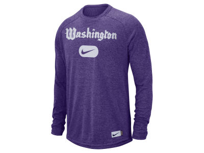 Washington Huskies Nike NCAA Men's Stadium Long Sleeve T-Shirt
