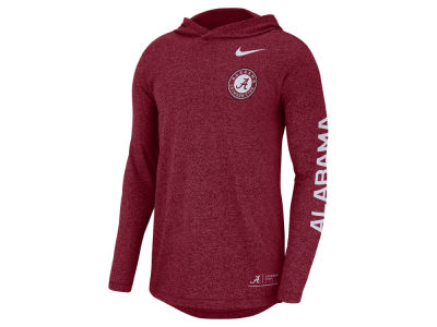 Alabama Crimson Tide Nike NCAA Men's Long Sleeve Hooded T-Shirt