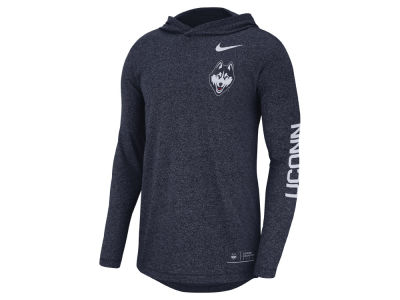Connecticut Huskies Nike NCAA Men's Long Sleeve Hooded T-Shirt