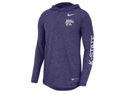 Kansas State Wildcats Nike NCAA Men's Long Sleeve Hooded T-Shirt