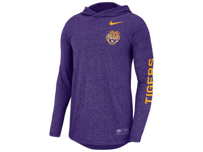LSU Tigers Nike NCAA Men's Long Sleeve Hooded T-Shirt