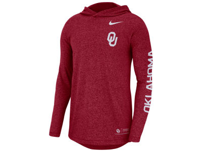 Oklahoma Sooners Nike NCAA Men's Long Sleeve Hooded T-Shirt