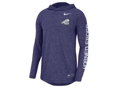 Texas Christian Horned Frogs Nike NCAA Men's Long Sleeve Hooded T-Shirt