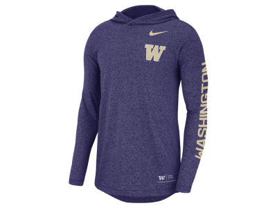 Washington Huskies Nike NCAA Men's Long Sleeve Hooded T-Shirt