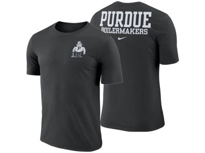 Purdue Boilermakers Nike NCAA Men's Dri-Fit Cotton Stadium T-Shirt