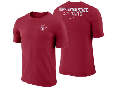 Washington State Cougars Nike NCAA Men's Dri-Fit Cotton Stadium T-Shirt