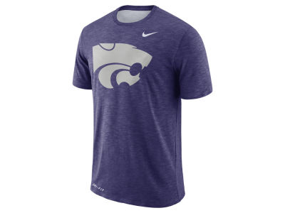 Kansas State Wildcats Nike NCAA Men's Dri-Fit Cotton Slub T-Shirt
