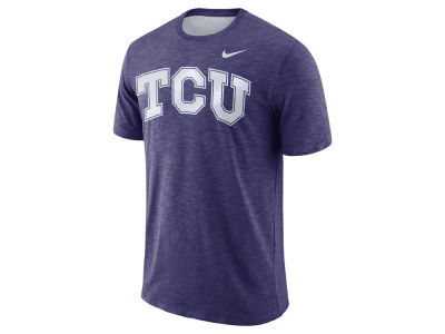 Texas Christian Horned Frogs Nike NCAA Men's Dri-Fit Cotton Slub T-Shirt