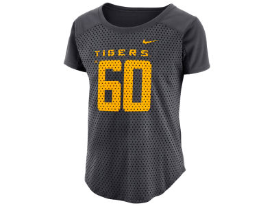 LSU Tigers Nike NCAA Women's Jersey Mesh Fan T-Shirt