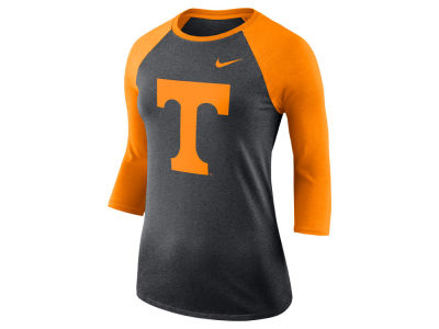 7c7edd9b18c3 Tennessee Volunteers Nike NCAA Women s Dri-Blend Raglan T-shirt