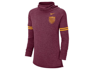 Florida State Seminoles Nike NCAA Women's Funnel Neck Long Sleeve T-shirt