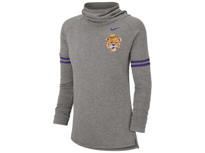 LSU Tigers Nike NCAA Women's Funnel Neck Long Sleeve T-shirt