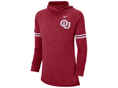 Oklahoma Sooners Nike NCAA Women's Funnel Neck Long Sleeve T-shirt