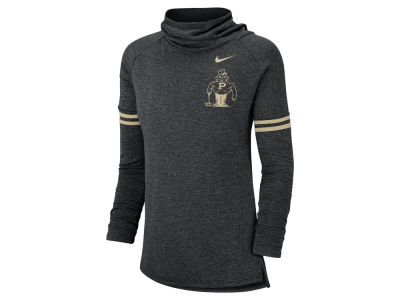 Purdue Boilermakers Nike NCAA Women's Funnel Neck Long Sleeve T-shirt