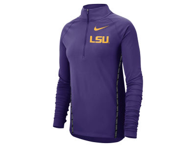 LSU Tigers Nike NCAA Women's Element Half Zip Pullover