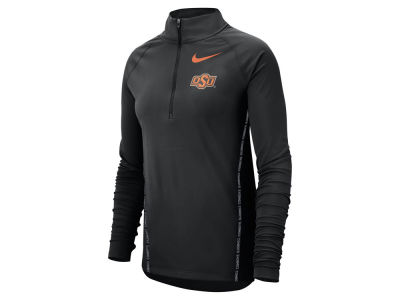 Oklahoma State Cowboys Nike NCAA Women's Element Half Zip Pullover