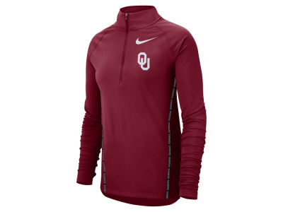 Oklahoma Sooners Nike NCAA Women's Element Half Zip Pullover