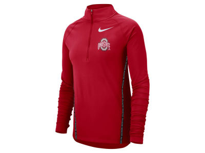 Ohio State Buckeyes Nike NCAA Women's Element Half Zip Pullover