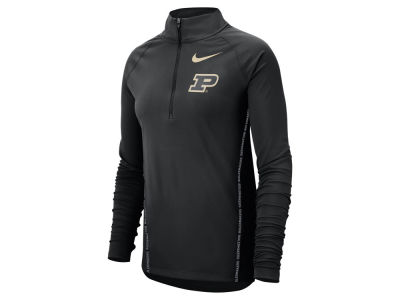 Purdue Boilermakers Nike NCAA Women's Element Half Zip Pullover