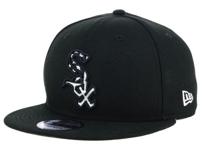 Chicago White Sox New Era MLB Flag Fill 9FIFTY Snapback Cap