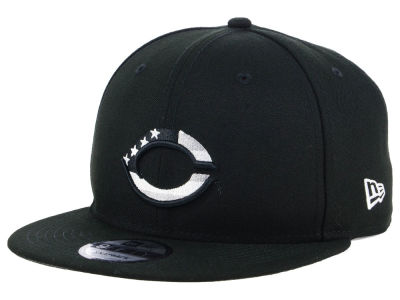 Cincinnati Reds New Era MLB Flag Fill 9FIFTY Snapback Cap