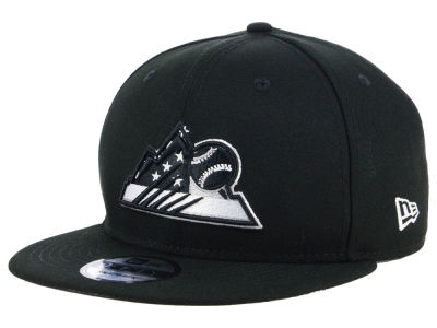 Colorado Rockies New Era MLB Flag Fill 9FIFTY Snapback Cap
