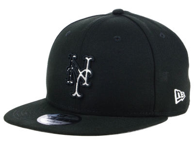 New York Mets New Era MLB Flag Fill 9FIFTY Snapback Cap