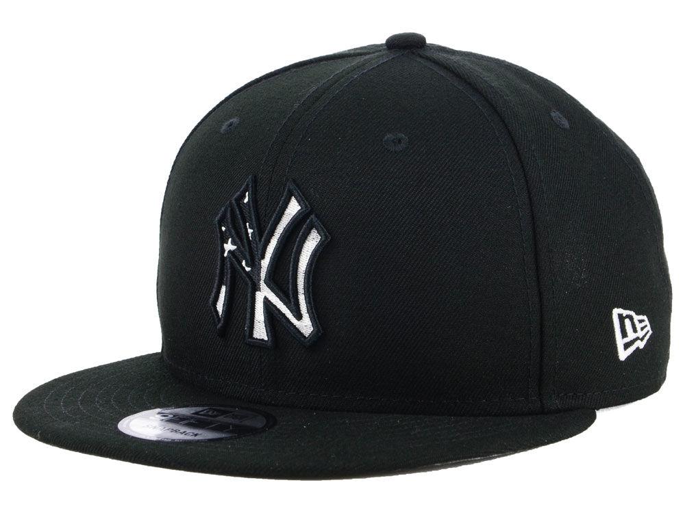 5fa37d0be45 New York Yankees New Era MLB Flag Fill 9FIFTY Snapback Cap