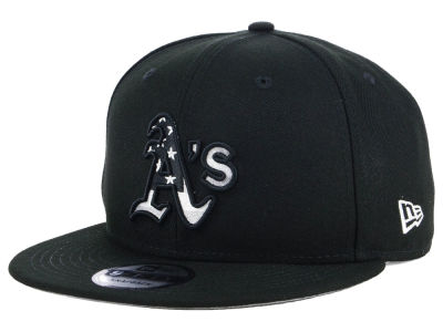 Oakland Athletics New Era MLB Flag Fill 9FIFTY Snapback Cap