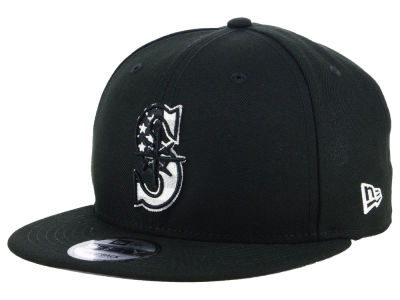 Seattle Mariners New Era MLB Flag Fill 9FIFTY Snapback Cap