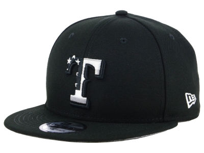 Texas Rangers New Era MLB Flag Fill 9FIFTY Snapback Cap