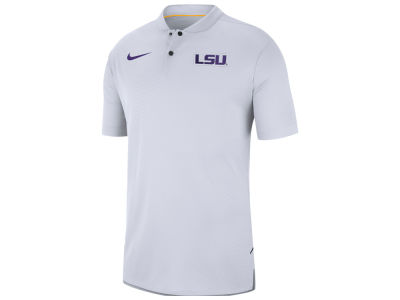 LSU Tigers Nike 2018 NCAA Men's Elite Coaches Polo