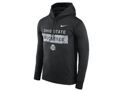 outlet store fd468 4b592 Nike NCAA Men s Staff Pullover Hooded Sweatshirt Apparel at  OhioStateBuckeyes.com
