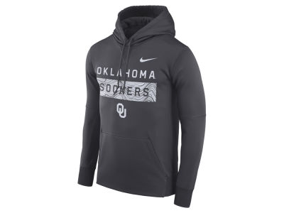 Oklahoma Sooners Nike NCAA Men's Staff Pullover Hooded Sweatshirt