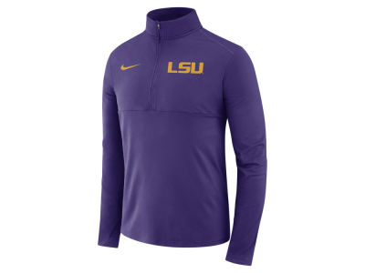 LSU Tigers Nike NCAA Men's Element Quarter Zip Pullover
