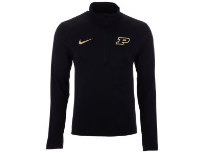 Purdue Boilermakers Nike NCAA Men's Element Quarter Zip Pullover