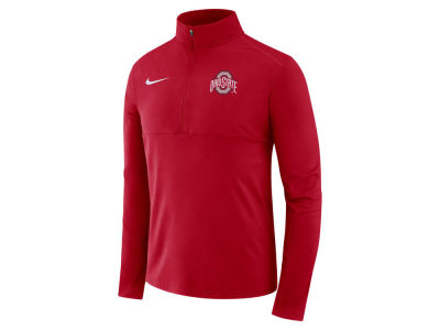 Ohio State Buckeyes Nike NCAA Men's Element Quarter Zip Pullover