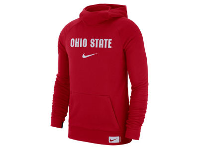 Ohio State Buckeyes Nike NCAA Men's Dri-Fit Stadium Hooded Sweatshirt