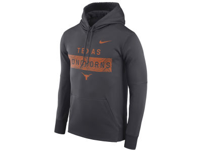 Texas Longhorns Nike NCAA Men's Staff Pullover Hooded Sweatshirt