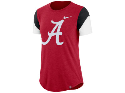 Alabama Crimson Tide Nike NCAA Women's Tri-blend Fan T-Shirt