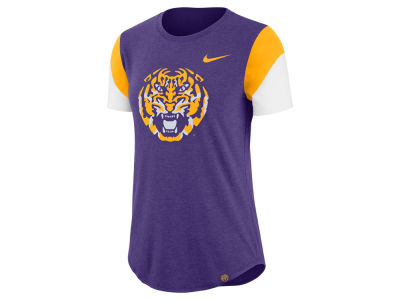 LSU Tigers Nike NCAA Women's Tri-blend Fan T-Shirt