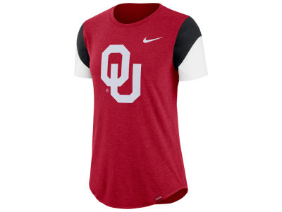 Oklahoma Sooners Nike NCAA Women's Tri-blend Fan T-Shirt