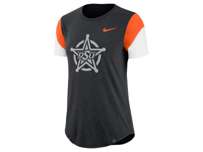 Oklahoma State Cowboys Nike NCAA Women's Tri-blend Fan T-Shirt